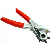 Hole Punch Pliers Leatherworking Belt Strap Hand Tool