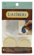 Laliberi Julie Comstock Adhesive Rounds, Medium/Small Mix