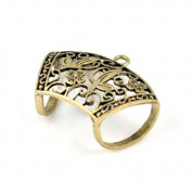 Antique Bronze Butterfly Scarf Tube Rings for Diy. Pt-506,6 Pcs Per Lot