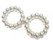 Scarf Rings 50pcs Scarf Accessory DIY Silver Fancy Scarf Rings Pendant Jewellery