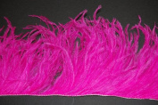 90cm OSTRICH Feather Fringe - HOT PINK