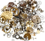 60mls (60 grammes) Vintage Watch Parts Pieces for Crafting Steampunk Jewellery & Altered Art