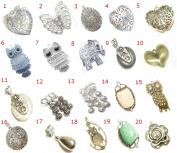 Scarf Jewellery Pendants Necklace Components Wholesale 20pcs/Lot