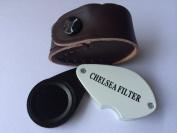 Chelsea (Jadeite) filter Gemstone for Gems, Emerald, Green stones Testing, Loupe