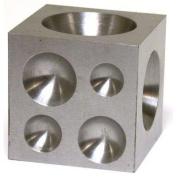 Steel Dapping Block Jewellers Silversmith Anvil 5.1cm Tool