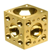 Brass Dapping Block, 5.1cm