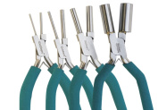 Wubbers Oval Mandrel Pliers, Complete Set, with Plier Care Article by Jewellery Artist Charlene Anderson