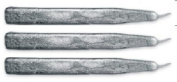 Metallic Silver Waterstons Scottish Sealing Wax (With Wick) - 3 Sticks
