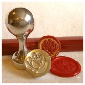 Rose Wax Seal Stamp