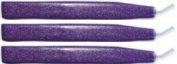 Sparkling Purple Waterstons Scottish Traditional Sealing Wax (With Wick) - 3 Sticks
