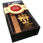 """Wax Seal Set - Brass Seal Stamp with Monogram letter """"P"""" & Wax Stick"""