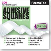 Adhesive SquaresTM Brand Adhesives-PermaTac 300 ct roll
