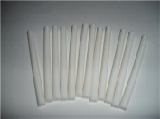 White Coloured Glue Sticks mini X 10cm 12 sticks