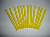 Yellow Coloured Glue Sticks mini X 10cm 12 sticks