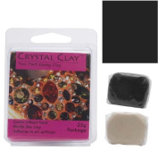 Crystal Clay 2-Part Epoxy Clay Kit 'Black' 25 Grammes