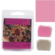 Crystal Clay 2-Part Epoxy Clay Kit 'Cotton Candy' 25 Grammes