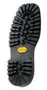 Vibram # 132 Montagna Block Unit Sole Black Colour Size 10 - Shoe Repair - 1 Pair