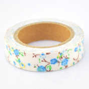 Lychee Craft Big Floral Fabric Washi Tape Decorative DIY Tape