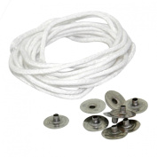 YazyCraft Candle wicks and Holder Value Pack