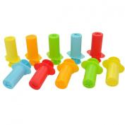 YazyCraft Clay Dough Extruders set of 10