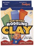 Ez Shape Modelling Clay - 5 Asst Colours, Primary, 0.5kg. - 1 Pkg