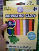 Ez Shape Modelling Clay Non Hardening Reusable Clay 20 Colours