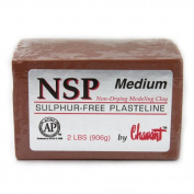 Chavant Clay - NSP Medium Brown - Sculpting and Modelling Clay