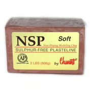 Chavant Clay - NSP Soft Brown - Sculpting and Modelling Clay