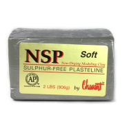 Chavant Clay - NSP Soft Green - Sculpting and Modelling Clay