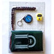 Eioo Tech Islamic Muslim Prayer Mat /Finger Counter/ Muslim Compass / Prayer Beads Whole Set Sell