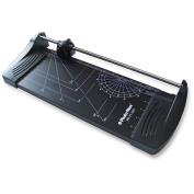 Photo-Max Economy Series Rotary Paper Trimmer, 32cm , Black, Metal Base
