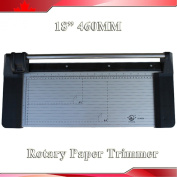 Brand New 18Inch 460mm Rotary Photo Vinyl Paper Cutter Portable Trimmer +1 Blade