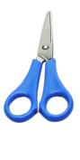 Charles Leonard Scissors - Student 13cm Ptd - Stainless Steel - Assorted Colours - 1/Bag, 77525