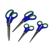 Four Piece Stainless Steel Scissor Set