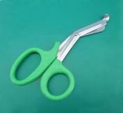 2 Pieces of EMT Utility Scissors Shears 19cm Green