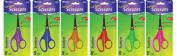 BAZIC 13cm Pointed Tip School Scissors, Box Pack of 24