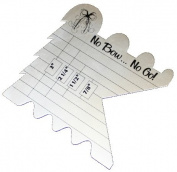 New Design--Cutting Edge Ruler--For Cutting and Sealing Ribbon--1pc
