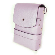 Scissors Shears Leather Cosmetic Tools Combs Carring Holster Case Bag Light Purple Colour