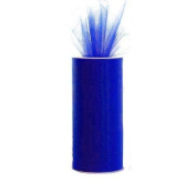 Royal Blue 15cm X 75 Ft (25 Yards) Tulle 100% Nylon