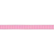 American Crafts - Gingham Ribbon .950cm 4 Yards