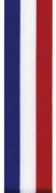 Offray Tri-Stripe Craft Ribbon, 2.2cm Wide by 10-Yard Spool, Royal