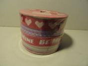 Valentine Decorative Ribbon - 4 Coordinating Designs