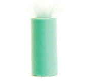 Mint Green 15cm X 75 Ft (25 Yards) Tulle 100% Nylon
