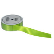 The Gift Wrap Company 2.2cm Luxury Satin Ribbon, Lime
