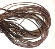 """25 Yards(75feet) - 2mm(1/13"""") Brown Satin Rattail Cord Chinese/china Knot Rat Tail Jewellery Braid 100% Polyester"""