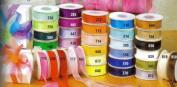 3.8cm Plain Sheer Organza Nylon Ribbon 25 Yards - Lavender