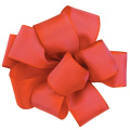 Offray Wired Edge Gelato Craft Ribbon, 1.6cm Wide by 25-Yard Spool, Red Coral