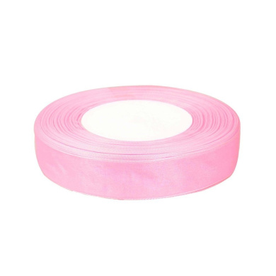 """OurWarm Light Pink 5/8"""" (15mm) Sheer Organza Ribbon for Birthday Party/Craft/Wedding Favours Scrapbooking Decor 50yard(150FT)"""