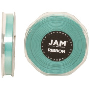 Tiffany Blue Satin 1cm thick x 25 yards Spool of Double Faced Satin Ribbon - Sold individually