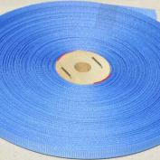Grosgrain 0.6cm #744 Polyester Grosgrain 50 YDS ~ Capri Blue 851